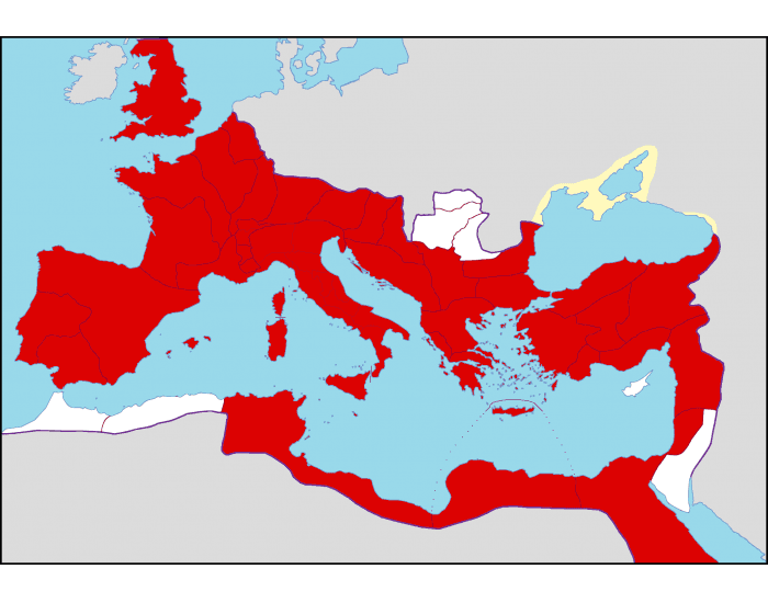 Game Statistics - Map of the Roman Empire during the Reign of ...