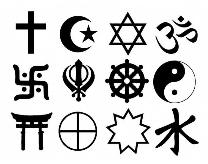 Game Statistics Symbols Of The Main Religions In The World - Main religions