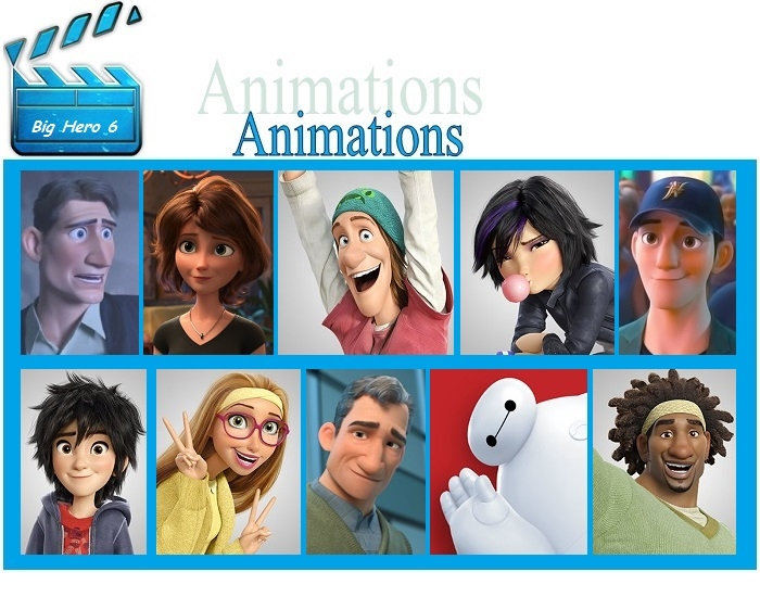 Animated Movies - Big Hero 6