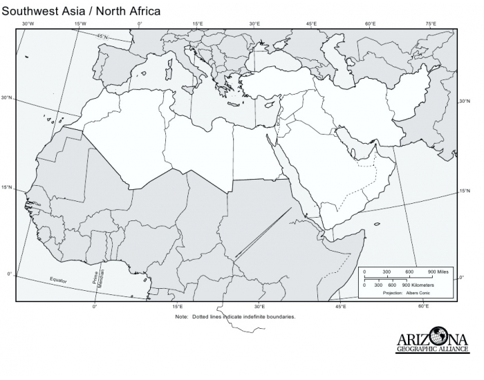 Southwest Asia Political Map Blank Pictures & Ideas - Holy Name