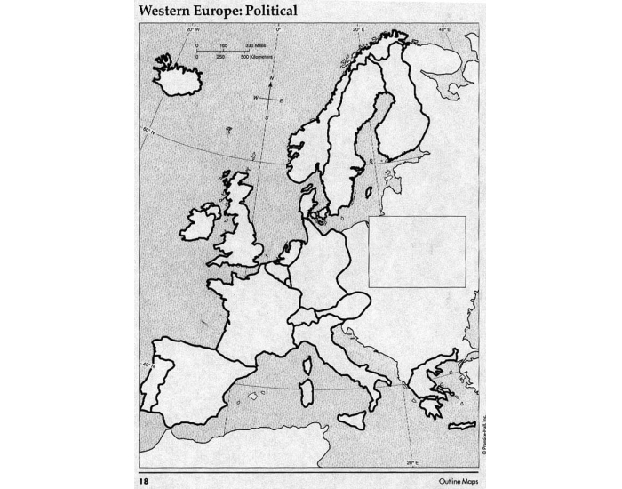 Western Europe Political Map Test - PurposeGames