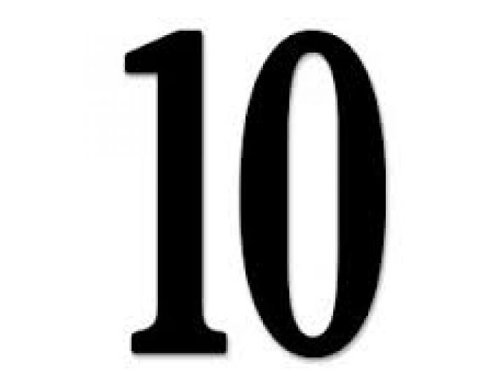 10 x Table