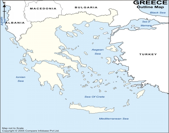 Ancient Greek Map Quiz - PurposeGames