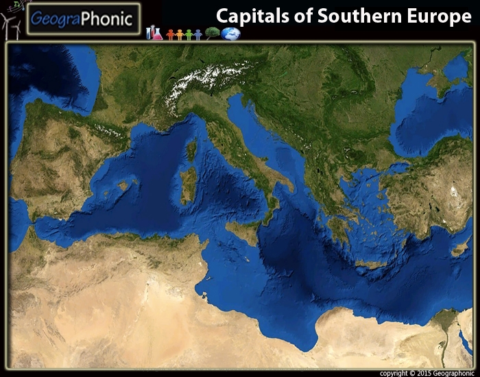 Capitals of Southern Europe