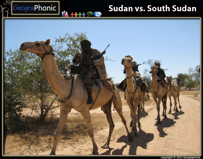 Sudan vs. South Sudan