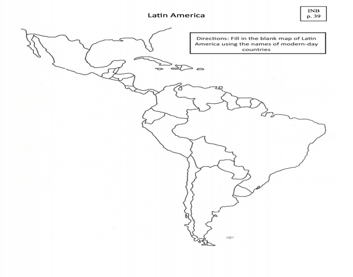Map of Latin America Practice Quiz - PurposeGames