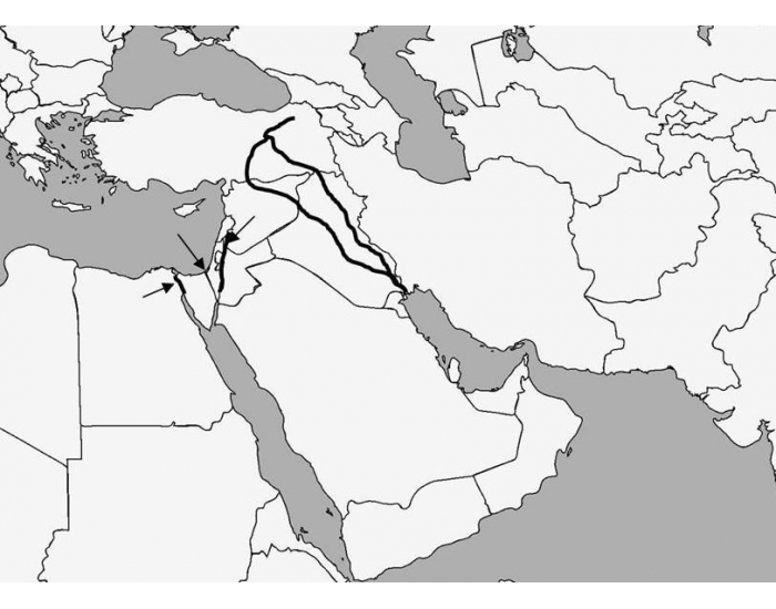SS7G5a Physical Features of SW Asia (Middle East)