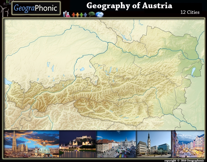 Geography of Austria : 12 Cities