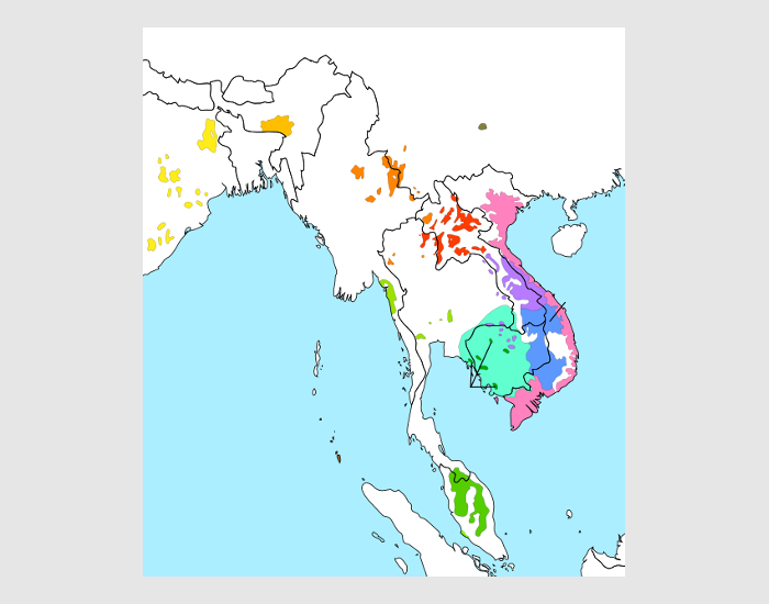 Austroasiatic Languages: Subdivisions