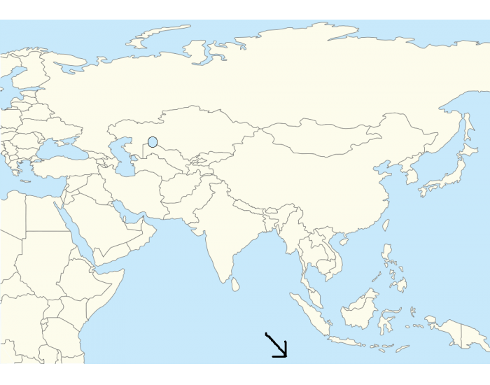 Find the countries for Ch.7