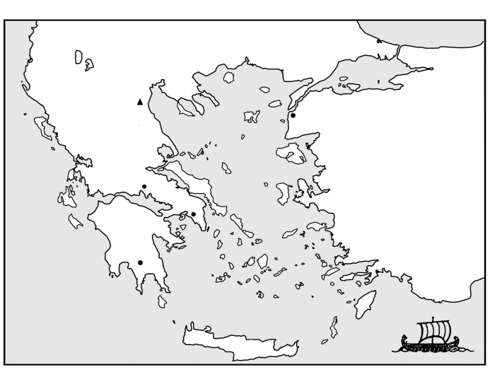 Gavurnik's Ancient Greece Geography Game