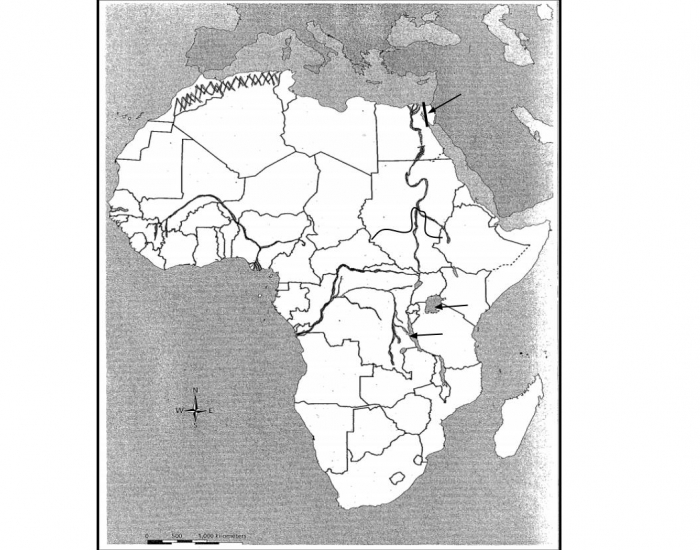 Map Of Africa Bodies Of Water.Game Statistics Africa Bodies Of Water Map Quiz Purposegames