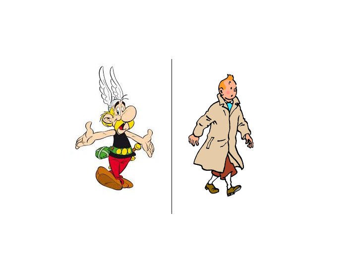 Asterix vs Tintin