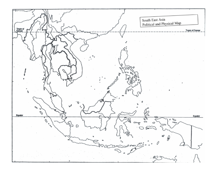 South East Asia Physical Map Quiz - PurposeGames