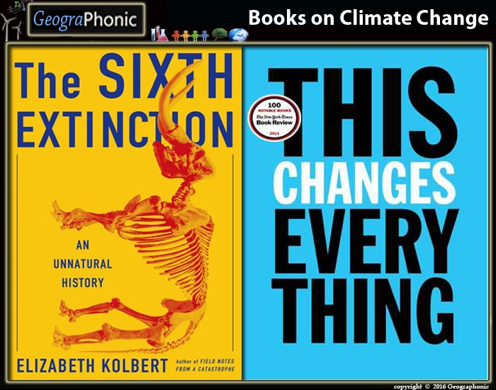 Famous books on Climate change and their authors
