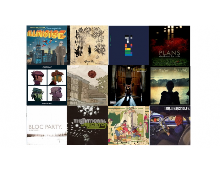 Top 12 albums released in 2005
