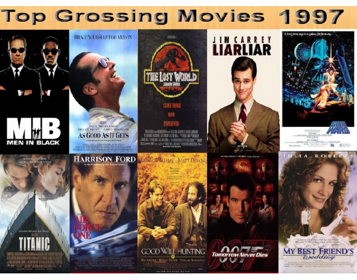 top 10 grossing movies 1997