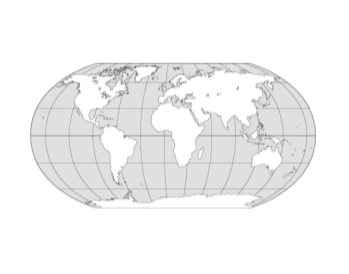 world map practice continents oceans and seas