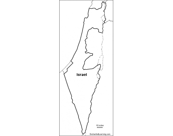 Israel Inset Map Quiz