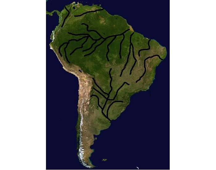 Rivers of South America