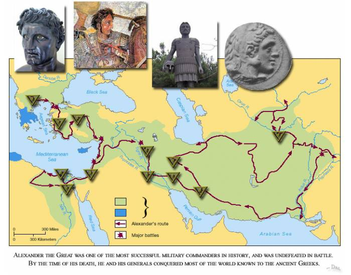 Alexander the Great: Conquests