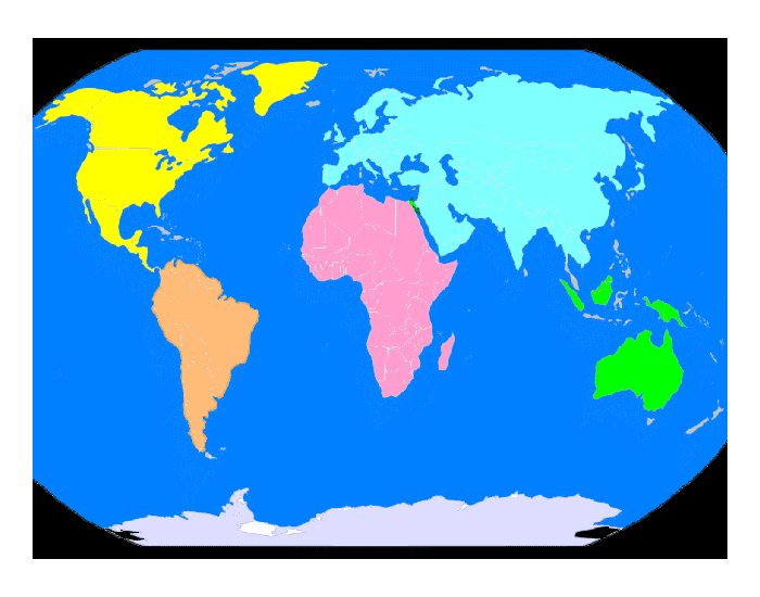 World Sovereign States A-B-C's 25 Easy Ones