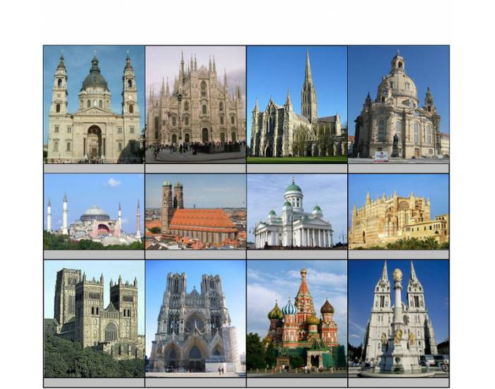 Cathedrals in Europe I