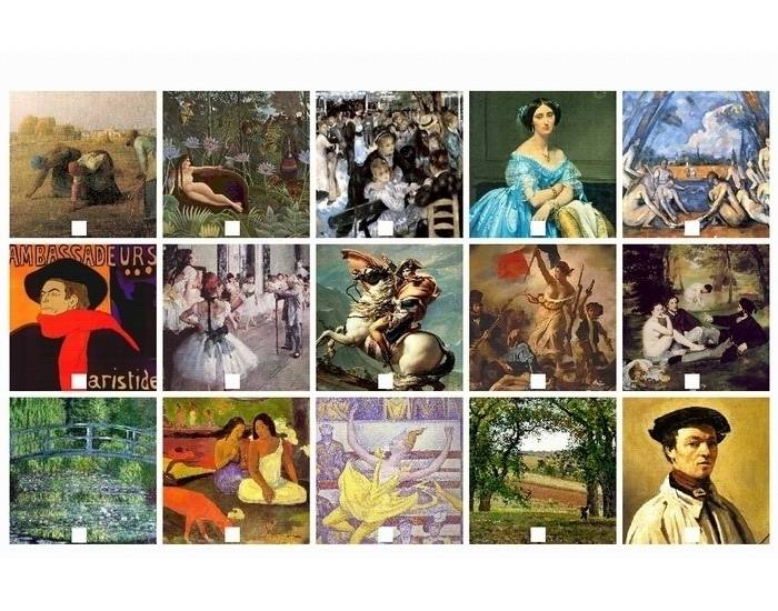 French painters (XIXth century)