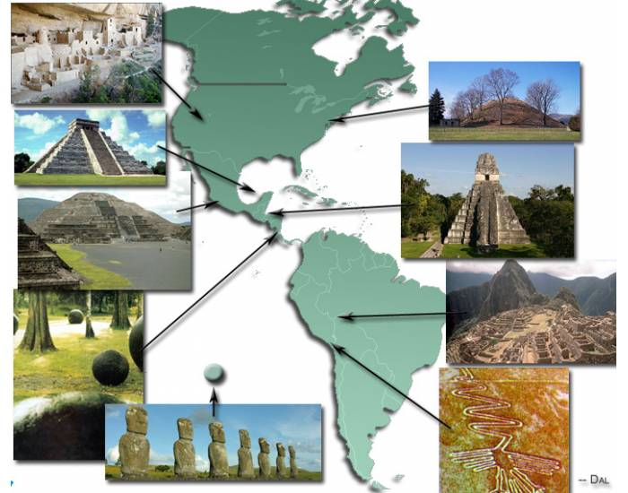 Monuments and Mysteries of the Americas