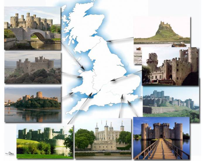 Famous  Medieval Castles (English and Welsh)
