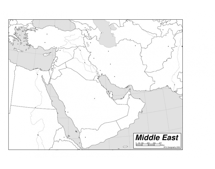 Mr. Jaffey\'s Middle East Map quiz - PurposeGames