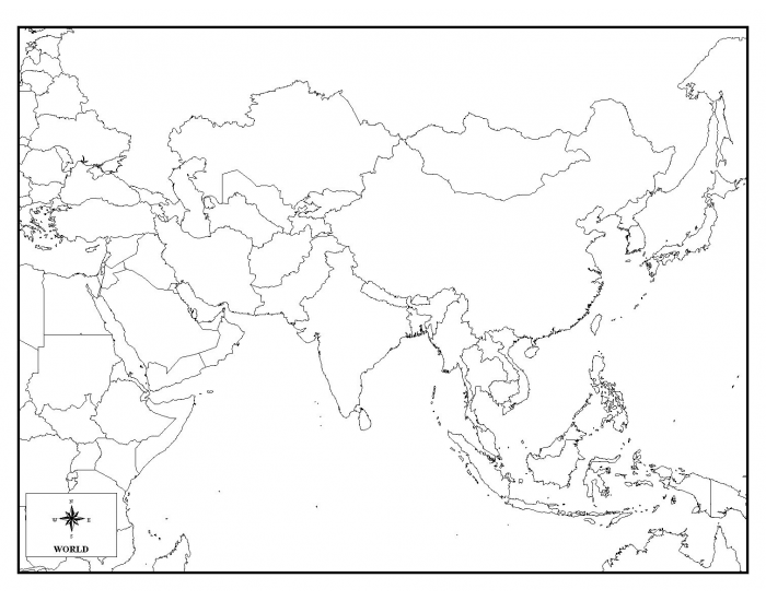 Map Quiz Central Asia 31