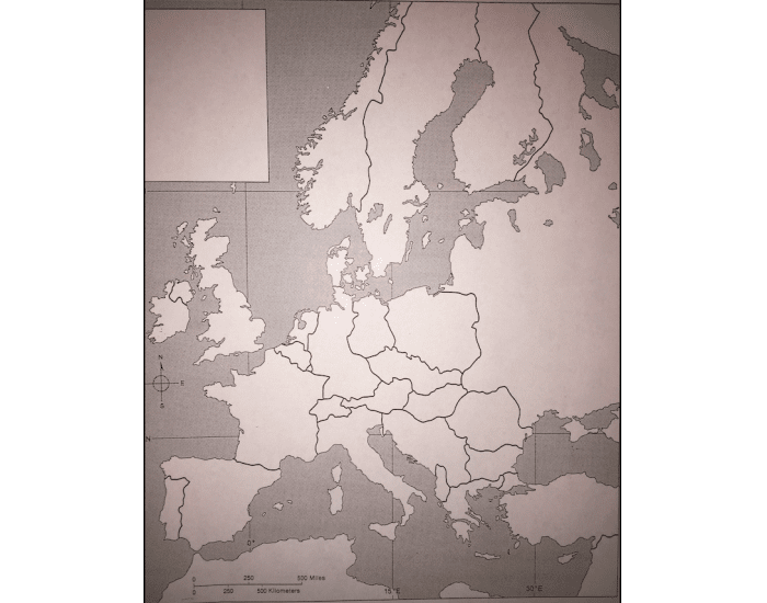 Europe After WW2 Map Quiz - PurposeGames