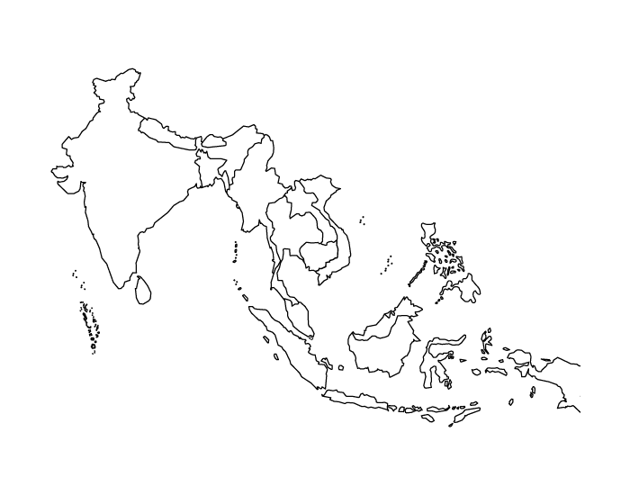 Physical of Centrel and east Asia