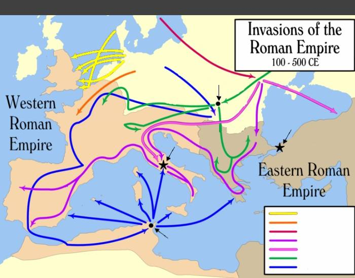 effect of the roman invasion on religion The effect in britain was a polarising into allies and enemies of the tribes with which rome had been in contact caesar lists among his allies the trinovantes of the colne peninsula and the iceni of norfolk, while the anti-roman forces were the tribes of kent and a tribe on the north bank of the thames, the name of which is lost but whose.