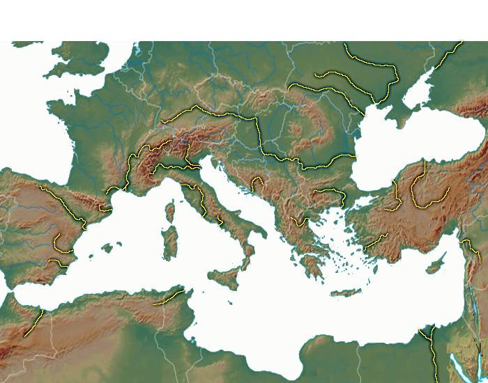 Rivers of the Mediterranean Basin