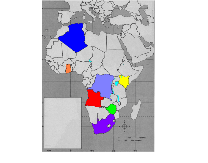Game Statistics African Independence Map - What does this map tells us about african independence