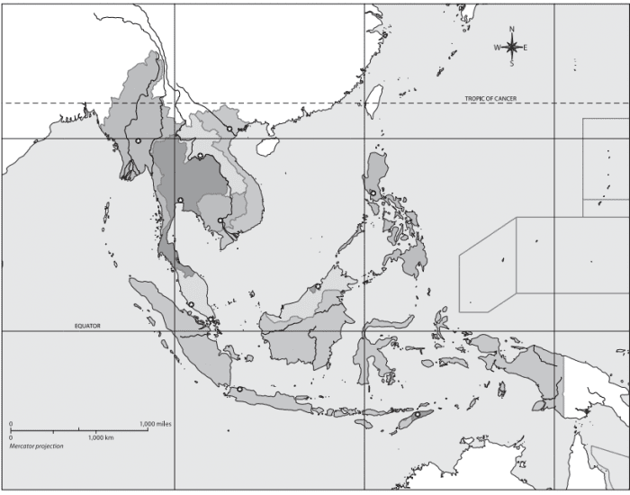 Capitals of Southeast Asia
