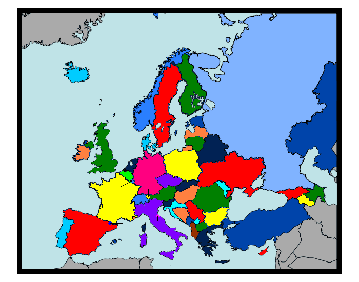 Ευρώπη (The countries of Europe)