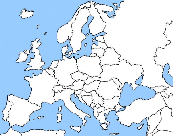 Southern Europe: Capitals