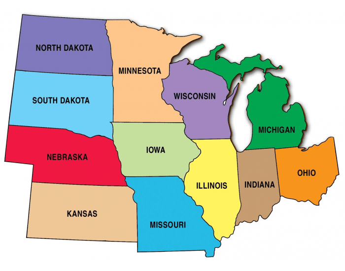 Charming Midwest States Capitals BY:ROFIKI
