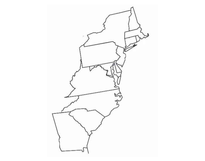 thirteen colonies united country to transcontinental nation essay 1 because of fertile land and a long growing season, plantations in the thirteen colonies developed in (1) new england (2) the middle atlantic region.