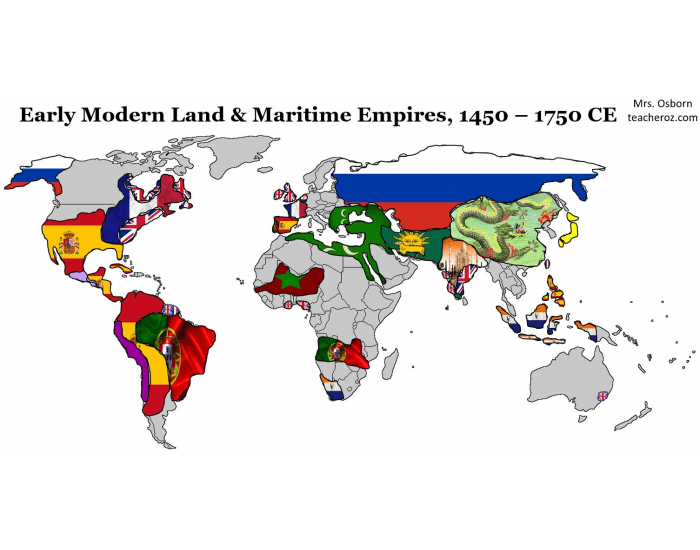 Mrs. Oz's Period 4 APWH Map - LAND & MARITIME EMPI