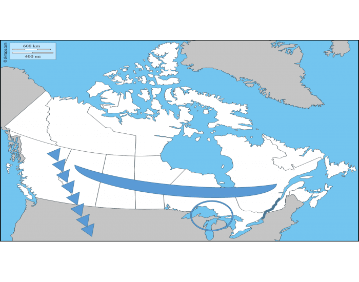 Map Games Canada