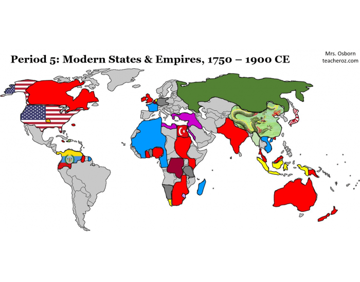 Mrs. Oz's Period 5 APWH Map: STATES/EMPIRES