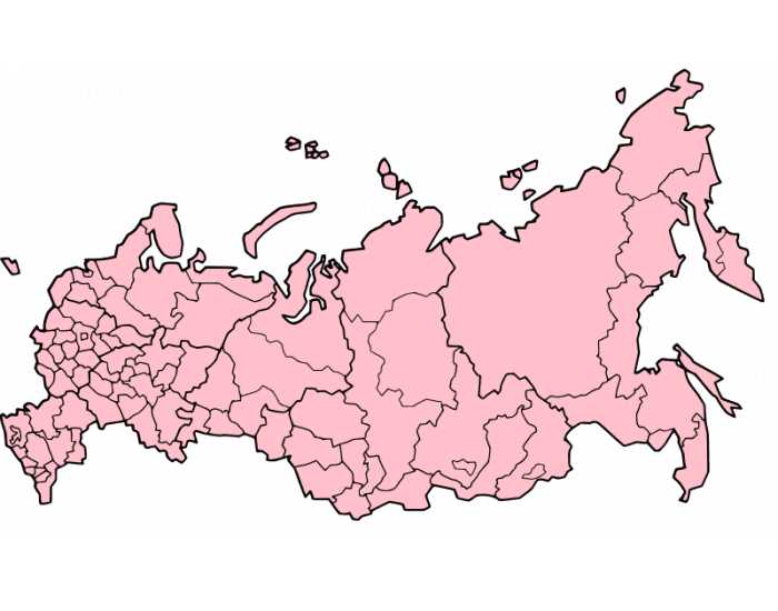20 Largest Federal Subjects of Russia by Population
