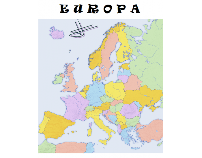 EUROPA. PAÍSES ~ CAPITALES...