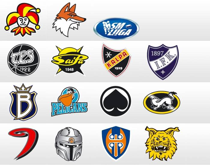 Finnish Hockey Teams (SM-liiga)