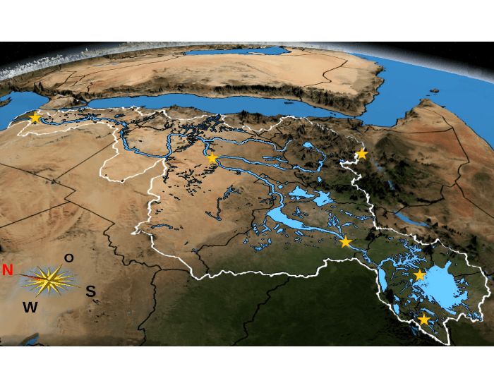 Nile Basin - Physical Features