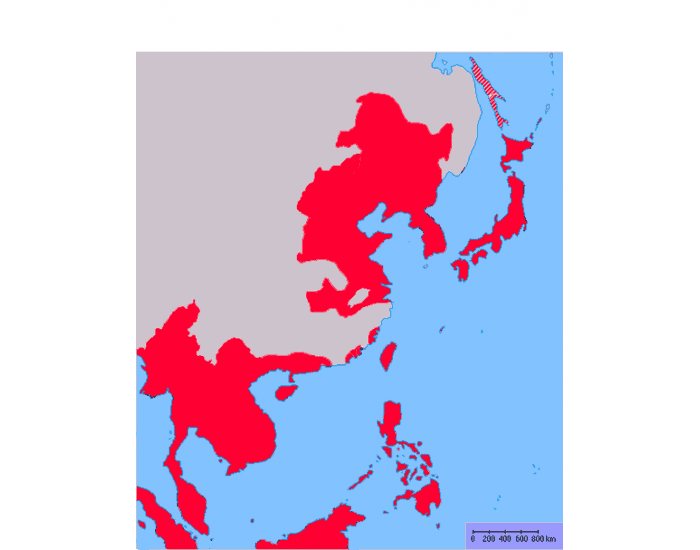 Japanese Empire in 1942